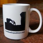 The Lost Sea Expedition coffee mug. Perfect for hitting the dusty trail or the commute.