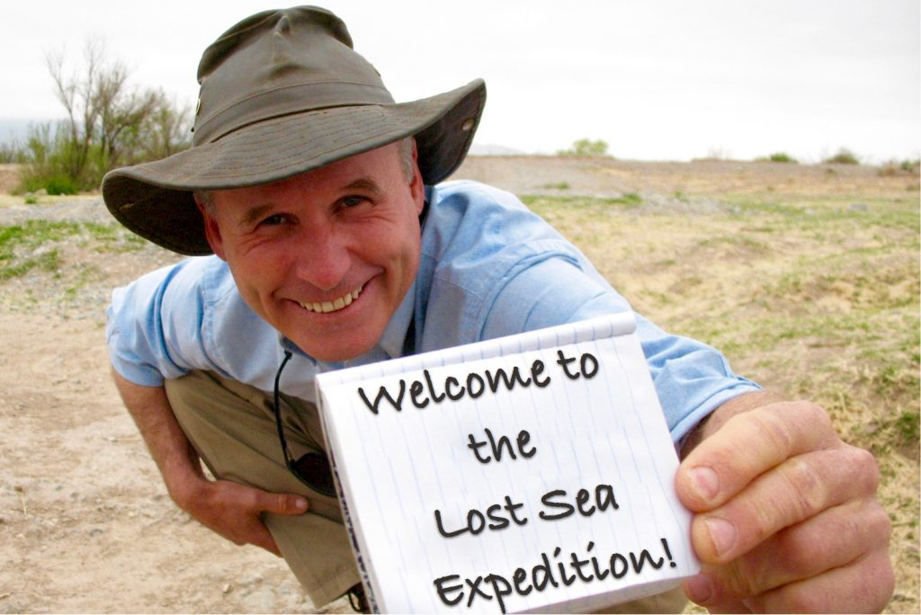 Bernie Harberts welcomes you to the lostseaexpedition.com site.