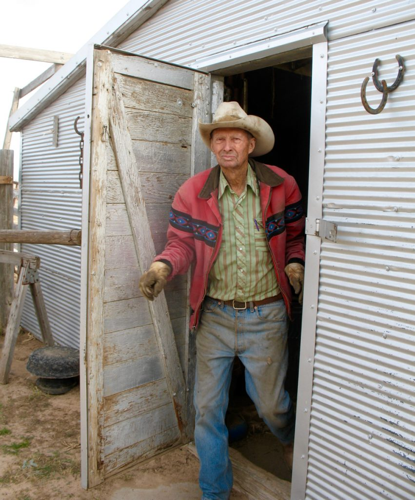 Colorado rancher Duane Ackley.
